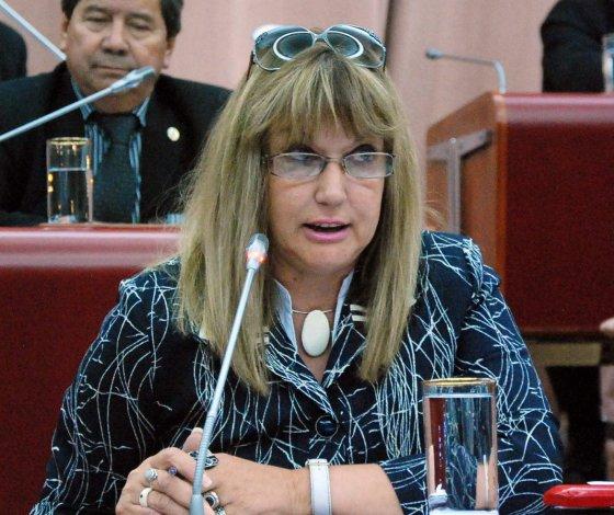 Elba Willhuber ingresó al Gobierno de Chubut como personal de gabinete.