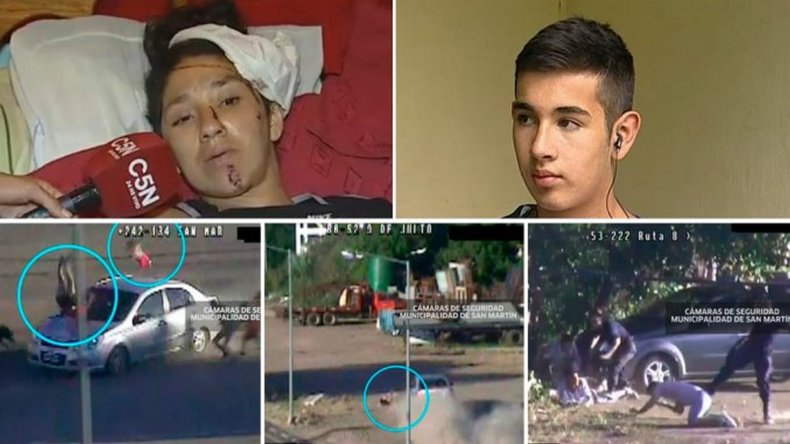 Héroe a los 15 años: salvó a una beba que fue atropellada en una fuga