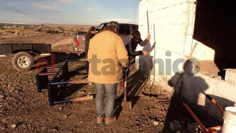 Destrozaron el refugio Pascual Fenolle de Bahía Solano