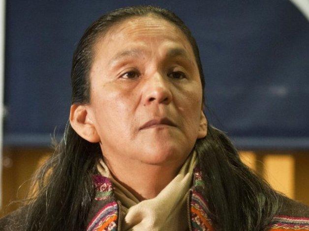 Milagro Sala continúa detenida en una cárcel para mujeres de Jujuy.