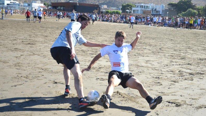 La 5ª edición del Torneo de Fútbol Playero se desarrollará entre hoy y mañana.