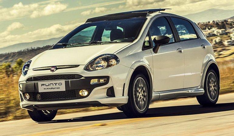 El Fiat Punto, ahora en la serie especial Blackmotion