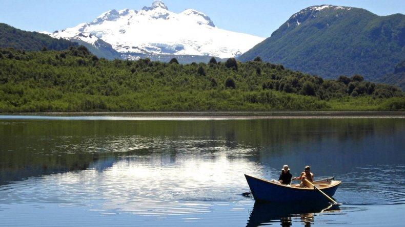 Villa Traful forma parte del hermoso Parque Nacional Nahuel Huapi.