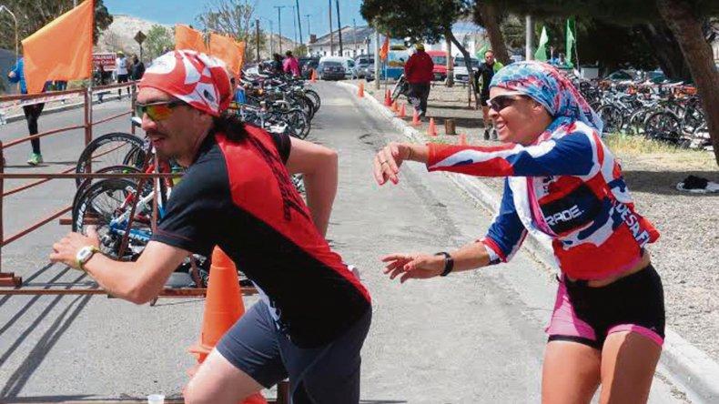 Los triatletas tendrán hoy bien temprano una cita importante en Rada Tilly.