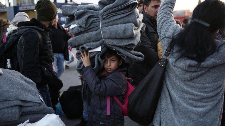 Tan sólo el año pasado ingresaron a Europa unos 270 mil niños entre los refugiados.