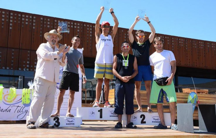 Moira Miranda y Jorge Acosta  ganaron el triatlón de Rada Tilly