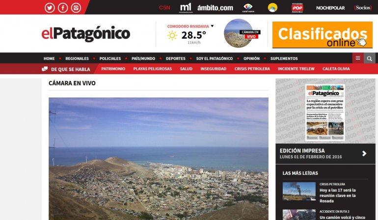 #EstamosDeEstreno: renovamos elpatagonico.com
