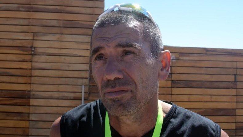 Mario Sosa está muy satisfecho por el crecimiento que tiene el triatlón.