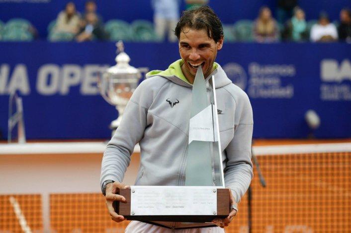 Rafael Nadal vendrá al país para defender el título del Argentina Open que conquistó en 2015.