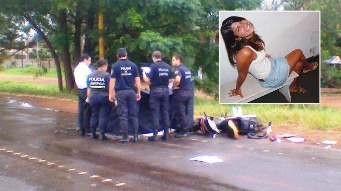 Ex Miss Argentina atropelló, mató y abandonó a un agente de tránsito