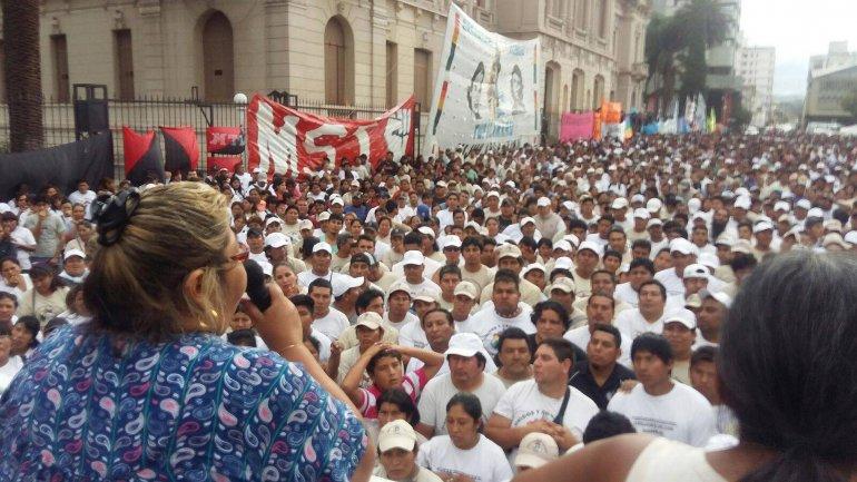 La plaza Belgrano
