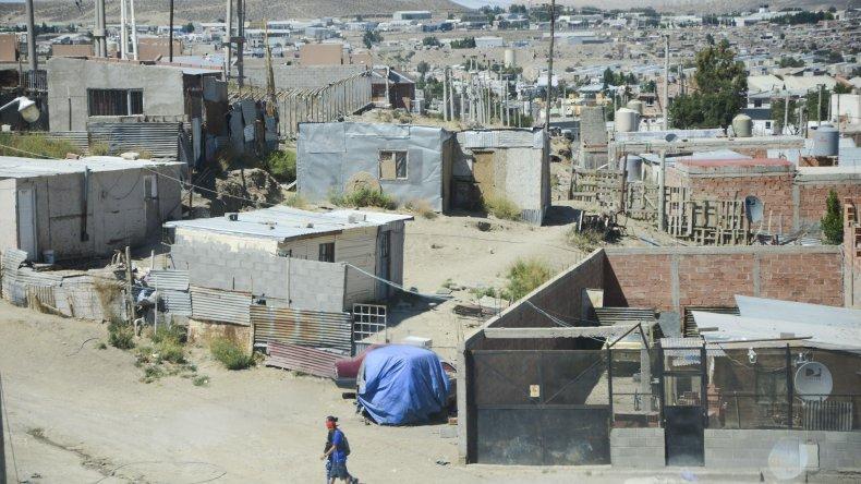 La vivienda de la familia Nieves ha sido blanco de reiterados ataques armados.