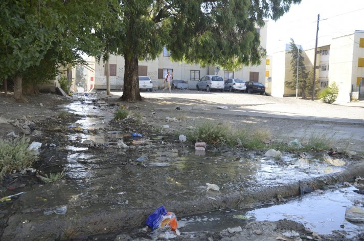 Los vecinos piden una solución al problema de la contaminación en el sector II.