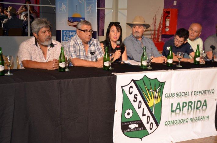 El lanzamiento oficial de la Copa Laprida se realizó en la tarde de ayer en Ele Multiespacio.