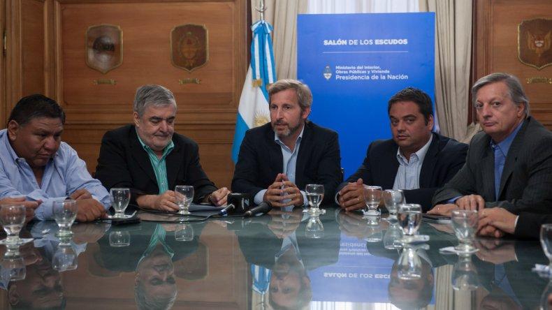 La reunión celebrada el lunes en Buenos Aires que permitió terminar de destrabar el conflicto.