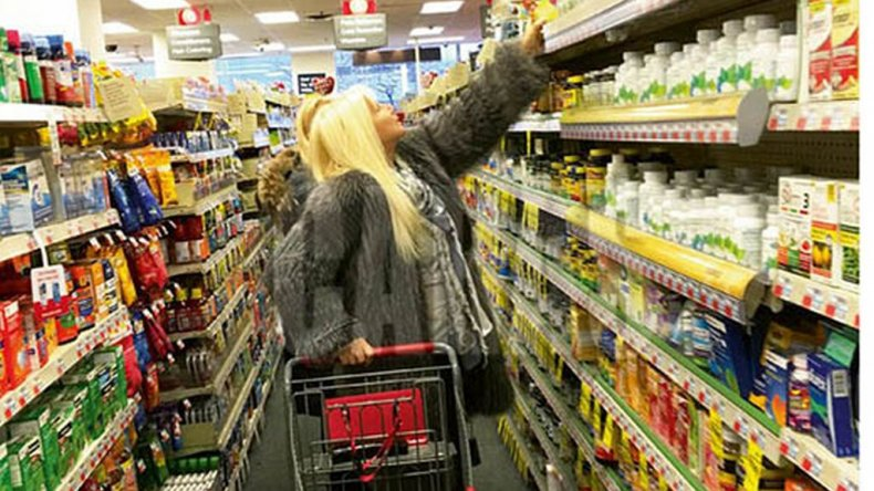 Susana Giménez de compras en Nueva York