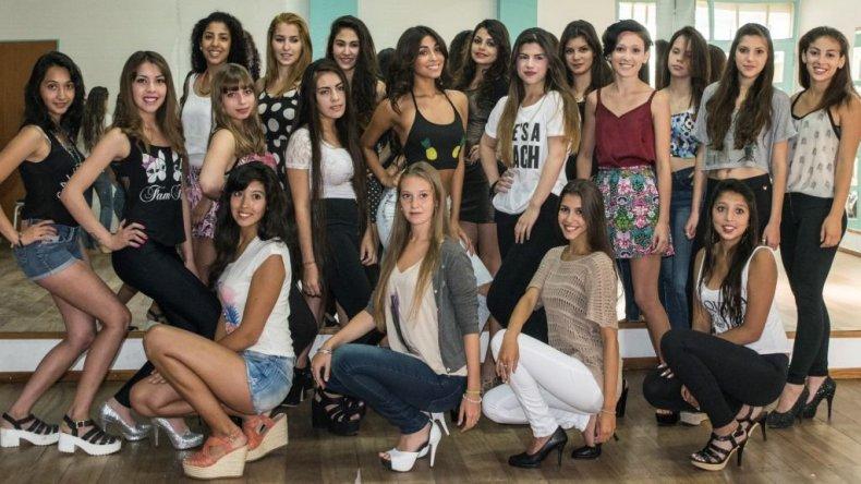 Foto: Archivo/candidatas a reina 2015