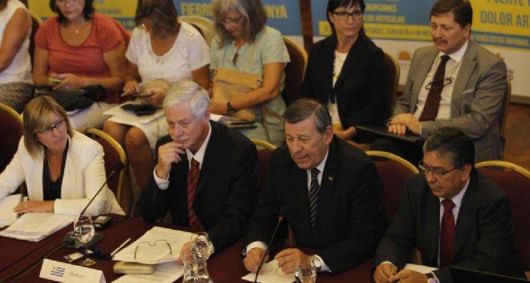 Ministros de Salud de todo el continente se reunieron en Montevideo.