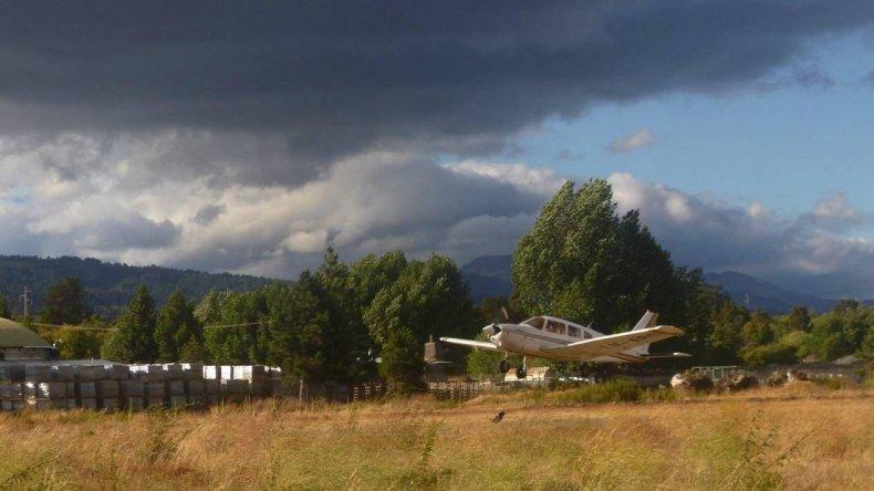 Los aviones del Aeroclub de Esquel estarán disponibles para realizar vuelos preventivos cuando el índice de incendio sea alto.