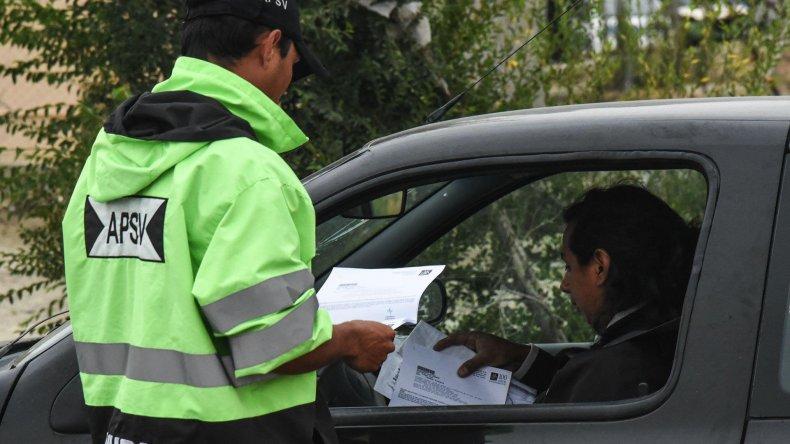Los controles que realiza la Agencia Provincial de Seguridad Vial labró un solo acta por falta de documentación de seguro de un automóvil.