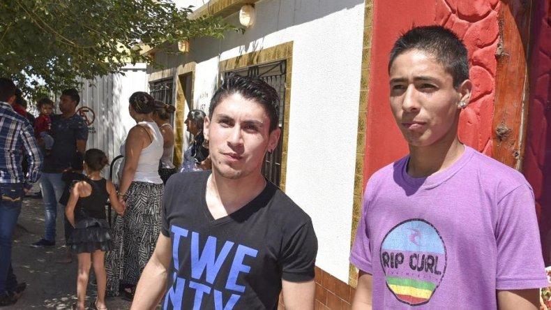 Dos jóvenes amigos de Fitz Roy