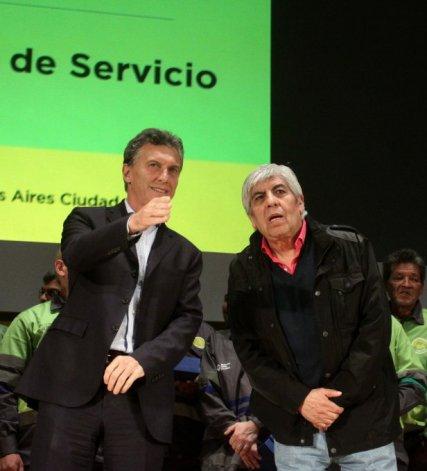 Pacto secreto entre Macri y Moyano