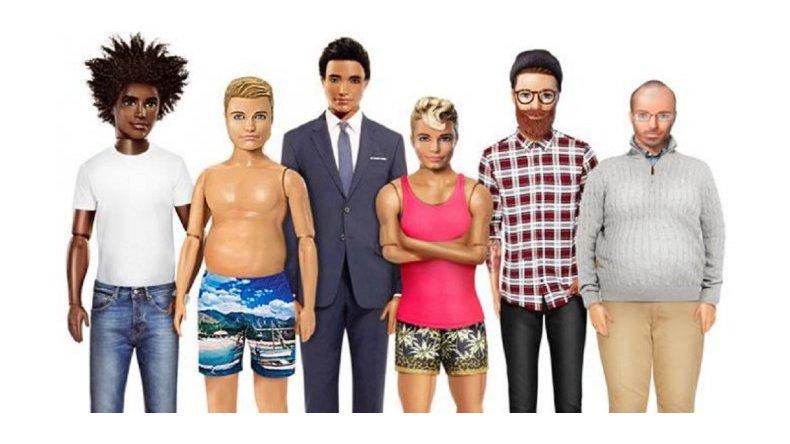 Piden que Ken tenga panza