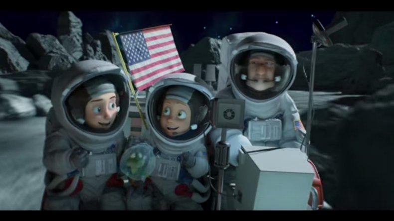 Hoy estrenan Una familia espacial