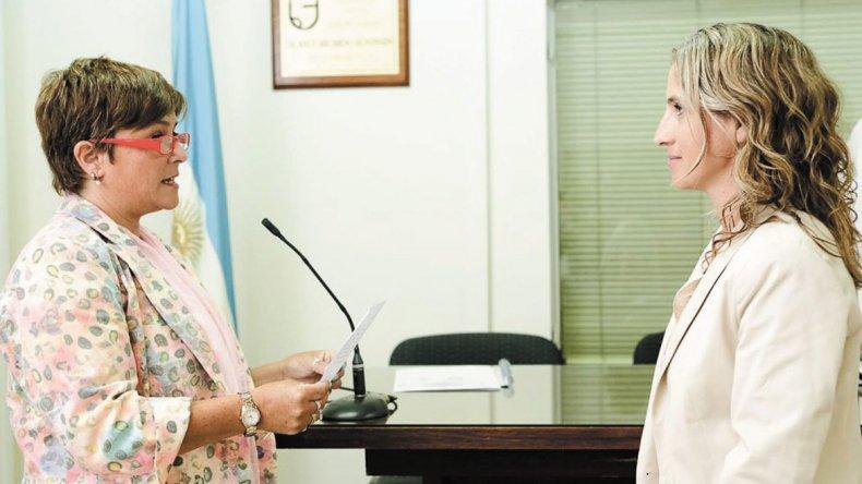 En la sesión preparatoria Gilda Olguín fue designada presidenta del cuerpo