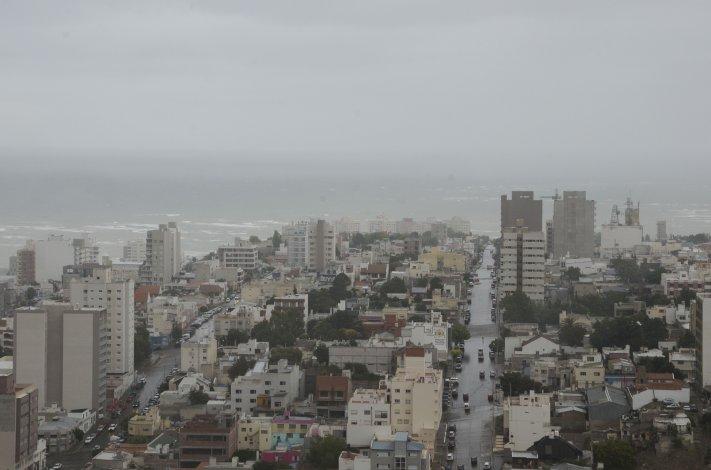 Probabilidad de lluvias y vientos fuertes para Comodoro