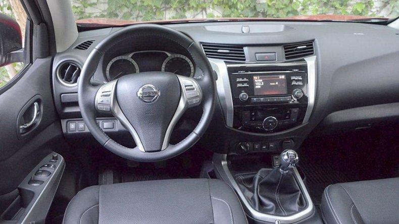 Prueba de Nissan NP300  Frontier – LE 4×4 Manual