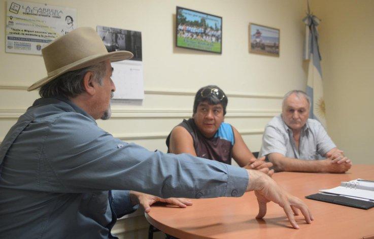 Comodoro Deportes y promotores de boxeo se reunieron en la semana.
