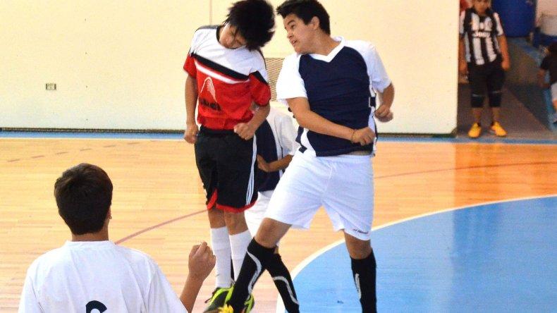 La acción del torneo de verano del futsal promocional