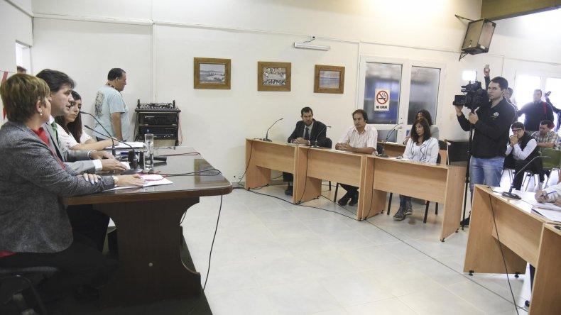 Luis Juncos inauguró el año legislativo en el Concejo Deliberante Rada Tilly.