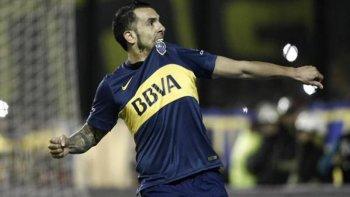 Carlos Tevez, la estrella de Boca Juniors que no brilló en el verano.