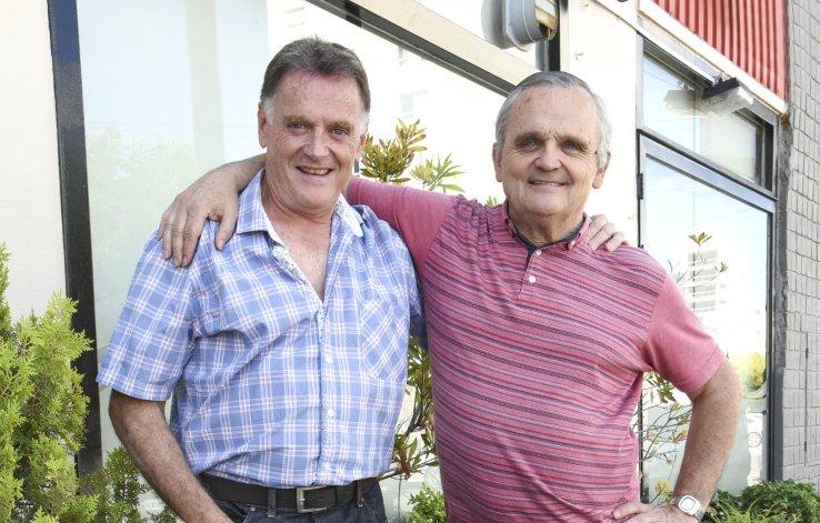 Los hermanos Jerónimo y Marcelo Falcón