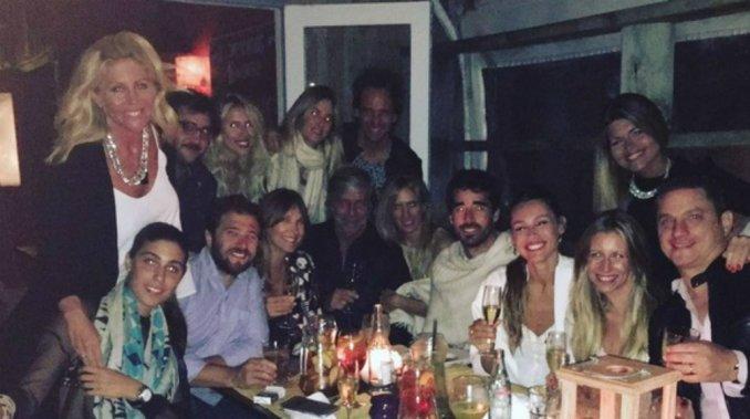Pampita festejó su cumpleaños al lado de Nacho Viale