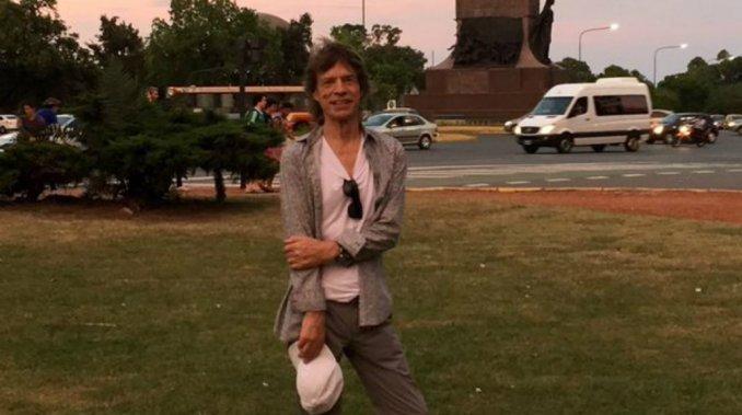 El paseo de Mick Jagger por Palermo en medio de la fiebre Stone