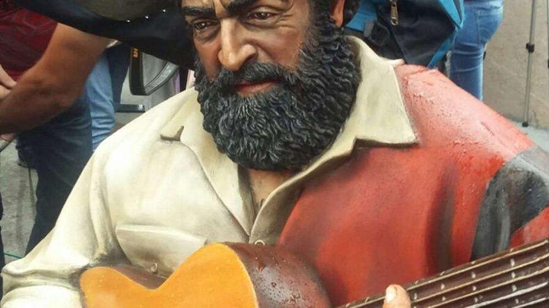 Fue uno de los cantantes folclóricos argentinos más populares de su tiempo
