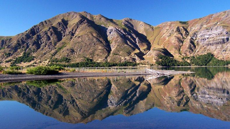 Las lagunas Epu Lauquen