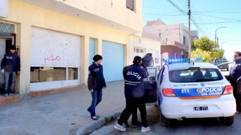 El día en el que Lidia Morelli fue detenida por la Brigada de Investigaciones en relación a la causa por la desaparición de Aníbal Freites.