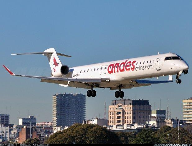 En abril habrá un vuelo diario que unirá Buenos Aires-Madryn-Comodoro