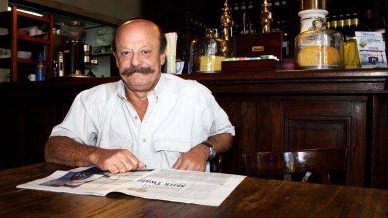 Martín Malharro fue periodista de la Sección Policiales además de su pasión por la literatura.