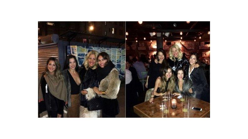 Noche de festejo y glamour: Pampita y sus amigas en Nueva York