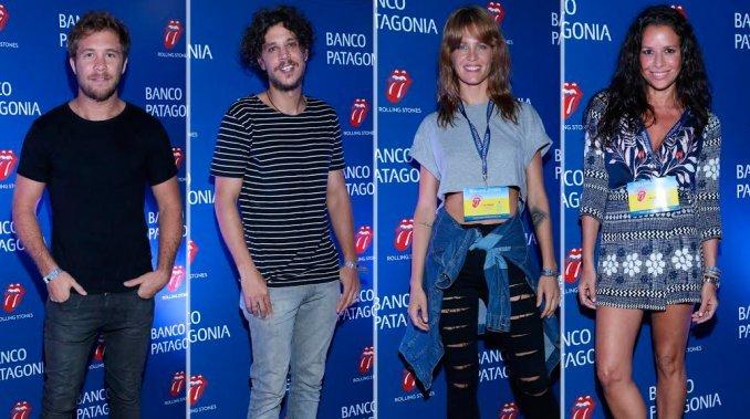 Los looks de los famosos en el recital de los Rolling Stones en Argentina