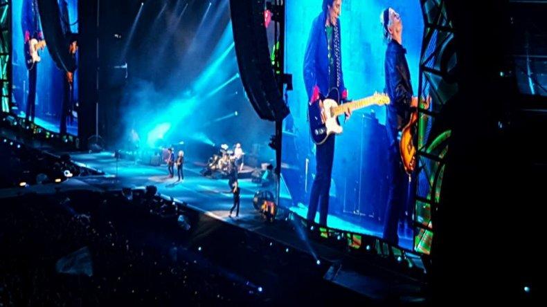 Rolling Stones en La Plata 7 de febrero 2016. Foto: Facebook.