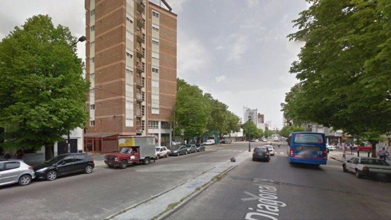 Robo en el Centro Universitario del Chubut en La Plata