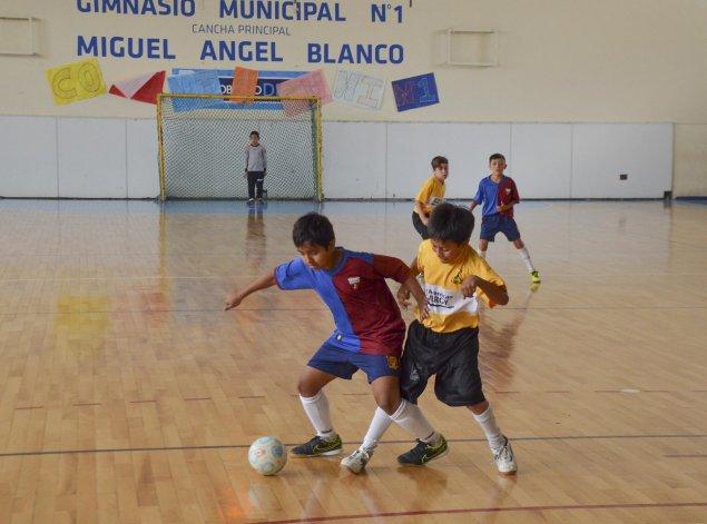 Los más chiquitos también tuvieron acción el último fin de semana por el Torneo de Verano de futsal.