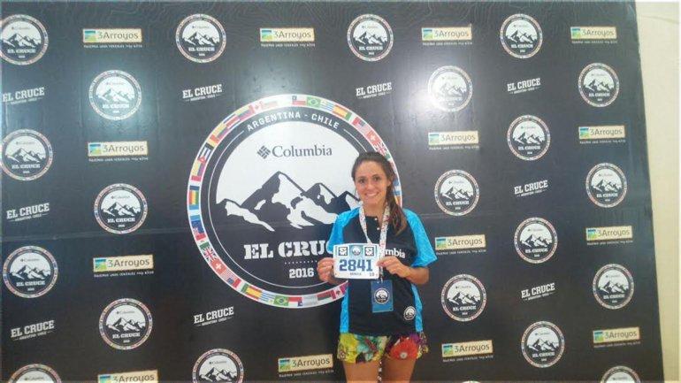 Debutando en la carrera y representando a Running Team Sarmiento