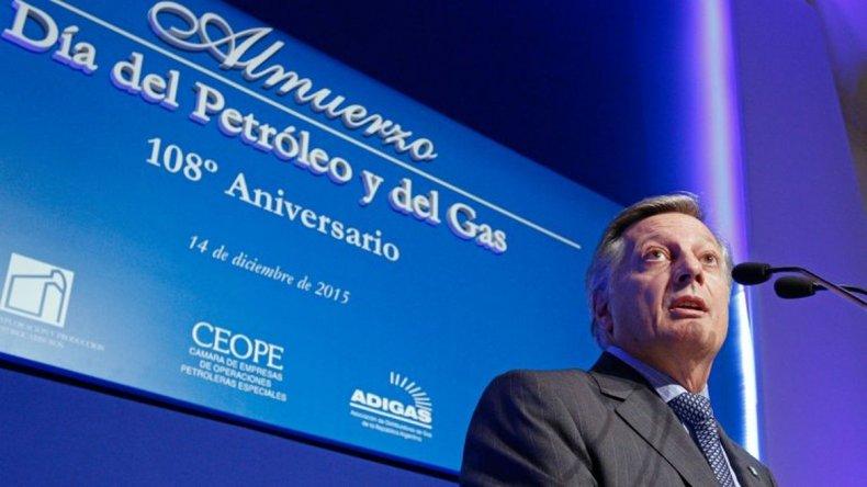 Aranguren sobre el gas: hubo un atraso en estos 10 años en el sistema tarifario